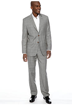 Lauren Ralph Lauren Tailored Clothing Slim Plaid Suit