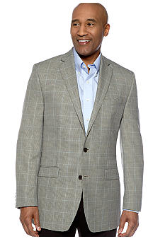 Lauren Ralph Lauren Tailored Clothing Plaid Houndstooth Sportcoat