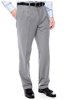 Lauren Ralph Lauren Tailored Clothing Total Comfort Tiny Check Dress Pant