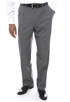 Lauren Ralph Lauren Tailored Clothing Classic Fit Total Comfort Pleated Dress Pants