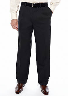 Lauren Ralph Lauren Tailored Clothing Classic Fit Total Comfort Pleated Dress Pants