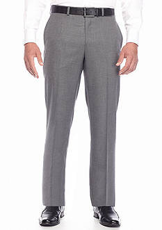 Lauren Ralph Lauren Tailored Clothing Classic Fit Gray Tic Pants