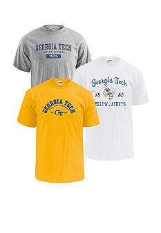 M J Soffe Georgia Tech Yellow Jackets 3-Pk Tees