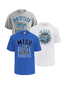 M J Soffe Middle Tennessee State Blue Raiders 3-Pk Tees