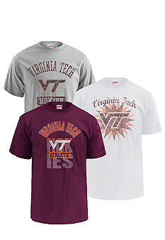 M J Soffe Virginia Tech Hokies 3-Pack Tees