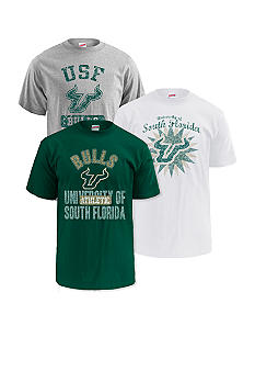 M J Soffe South Florida Bulls 3-Pk Tees