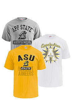 M J Soffe Appalachian State Mountaineers 3-Pack Tees