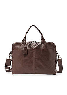 Fossil Wyatt Leather Work Bag