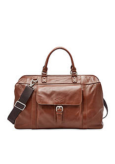 Fossil Estate Leather Duffel Bag