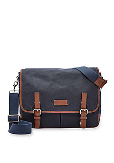 Fossil Graham Canvas Messenger Bag