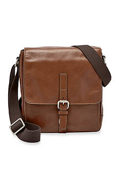 Fossil Davis Leather Small Messenger Bag