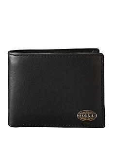 Fossil Estate Zip Passcase Wallet