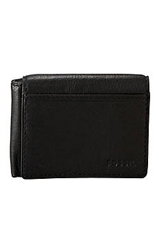Fossil Ingram Leather Flip Trifold Wallet
