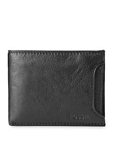 Fossil Ingram Leather 2 In 1 Bifold Wallet
