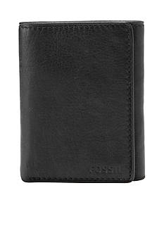 Fossil Ingram Leather Extra Capacity Trifold Wallet