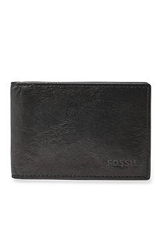 Fossil Ingram Leather Money Clip Bifold Wallet