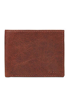 Fossil Ingram Leather L-Zip Bifold Wallet
