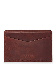Fossil Ingram Leather Card Case Wallet