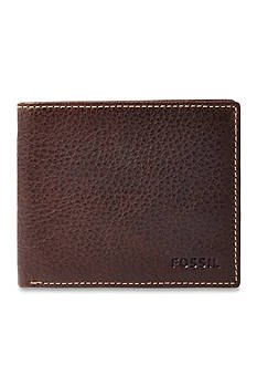 Fossil Lincoln Leather Bifold Wallet