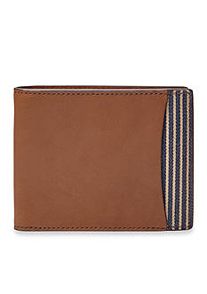 Fossil Knox Leather Bifold With Flip ID Wallet
