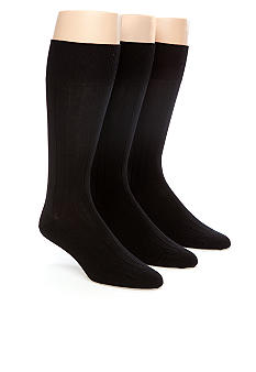 Calvin Klein Dress Rib Socks 3-Pack