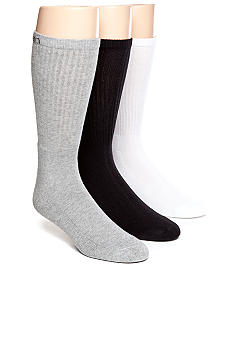 Calvin Klein 3-Pack Athletic Crew Socks