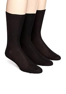 Calvin Klein Non-Elastic Dress Sock 3-Pack