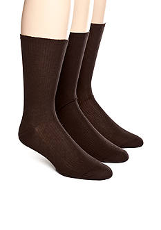 Calvin Klein Non-Elastic Dress Sock 3-Pack