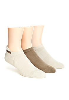 Calvin Klein 3-Pack Athletic Golf No-Show Socks
