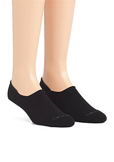 Calvin Klein No Show Cushion Liner Socks - 2 Pack