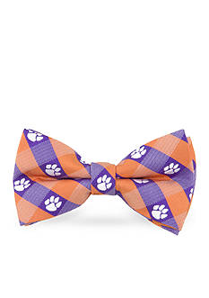 Eagles Wings Clemson Tigers Check Pre-tied Bow Tie