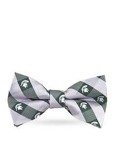 Eagles Wings MSU Spartans Check Pre-tied Bow Tie