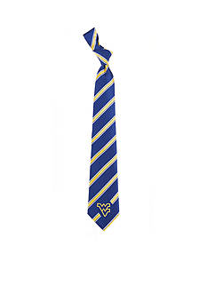Eagles Wings West Virginia Mountaineers Woven Poly 1 Tie