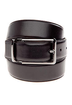 Madison Reversible Glove Nappa Gunmetal Belt