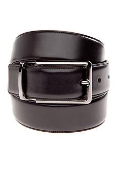 Madison Reversible Glove Nappa Gunmetal Belt