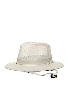Stetson No Fly Zone Insect Shield Nylon Mesh Safari Hat