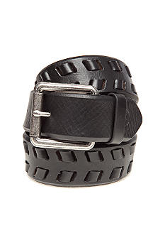 Braided With Lacing Detail Belt