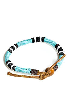 Red Camel Aqua Striped Bracelet