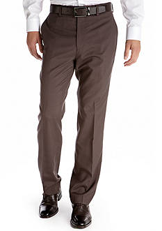 Madison Slim Fit Flat Front Pants