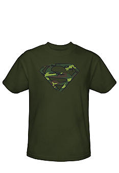 Trevco Inc. Superman Camo Tee
