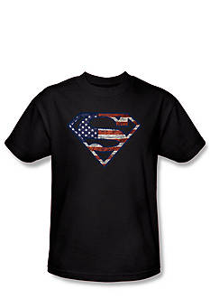 Trevco® Inc. Superman Flag Tee