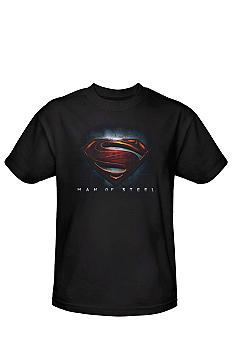 Trevco Inc. Superman Man of Steel Shield Tee
