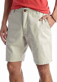 Red Camel Flat Front 9-in. Shorts