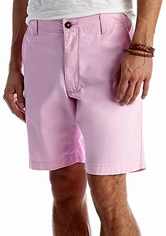 Red Camel Flat Front 9 in. Shorts