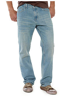 Red Camel® Basic Slim Straight Leg Jeans