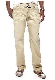 Red Camel® Straight Leg Khaki Jeans