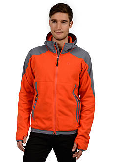 Champion Anti Pill Microfleece With Water Repellant Overlay Jacket