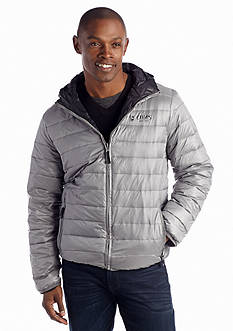 Chaps Hooded Packable Puffer Jacket