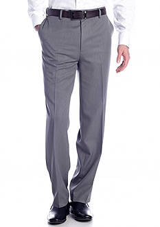 Saddlebred Straight Micro Flat Front Pant