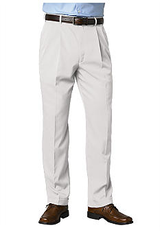 Saddlebred Straight Fit Pleated Dress Pants